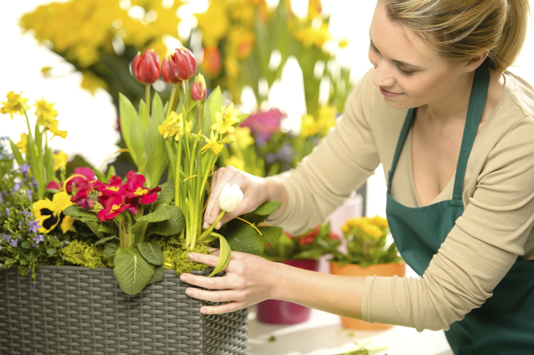 Floristería con envío de flores a domicilio en Sevilla